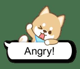 Shiba inu (English version) sticker #2053526