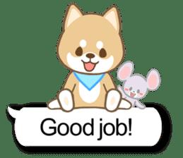 Shiba inu (English version) sticker #2053527