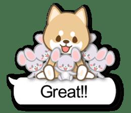 Shiba inu (English version) sticker #2053528