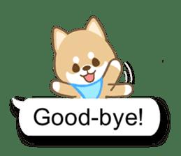Shiba inu (English version) sticker #2053532