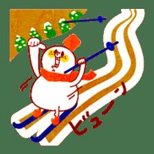 "RINGOKUN ""Christmas&New Year"" sticker #2053574"