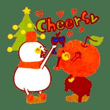 "RINGOKUN ""Christmas&New Year"" sticker #2053578"