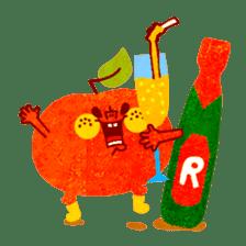 "RINGOKUN ""Christmas&New Year"" sticker #2053580"