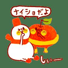"RINGOKUN ""Christmas&New Year"" sticker #2053583"