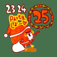 "RINGOKUN ""Christmas&New Year"" sticker #2053587"