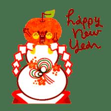 "RINGOKUN ""Christmas&New Year"" sticker #2053589"