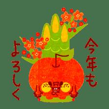 "RINGOKUN ""Christmas&New Year"" sticker #2053590"
