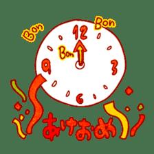 "RINGOKUN ""Christmas&New Year"" sticker #2053591"