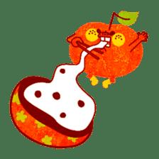 "RINGOKUN ""Christmas&New Year"" sticker #2053592"