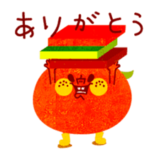 "RINGOKUN ""Christmas&New Year"" sticker #2053605"