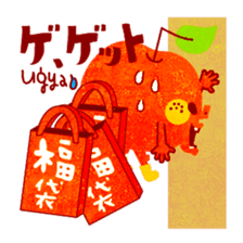 "RINGOKUN ""Christmas&New Year"" sticker #2053610"