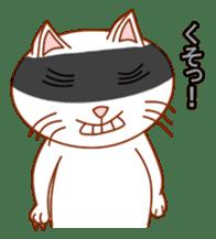 Cute  White Cat sticker #2055442