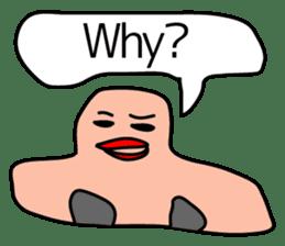 talking nose sticker #2055657