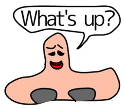 talking nose sticker #2055661