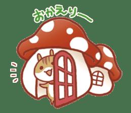 Leisurely squirrel sticker #2057180