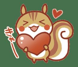 Leisurely squirrel sticker #2057189