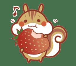 Leisurely squirrel sticker #2057194