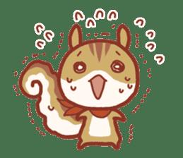 Leisurely squirrel sticker #2057205
