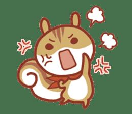 Leisurely squirrel sticker #2057210