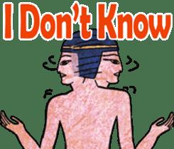 Pharaoh sticker #2057357