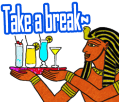 Pharaoh sticker #2057359