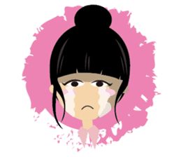 Q-WOW Girl sticker #2057500