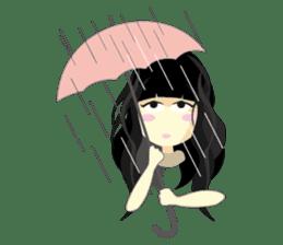 Q-WOW Girl sticker #2057522