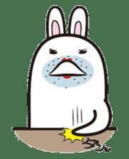 The rabbit of gay sticker #2057815