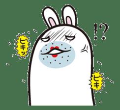 The rabbit of gay sticker #2057816