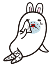 The rabbit of gay sticker #2057817