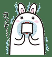 The rabbit of gay sticker #2057822