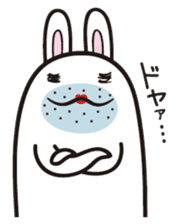 The rabbit of gay sticker #2057823