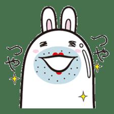 The rabbit of gay sticker #2057824