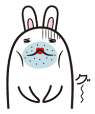 The rabbit of gay sticker #2057826