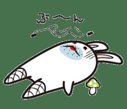 The rabbit of gay sticker #2057831