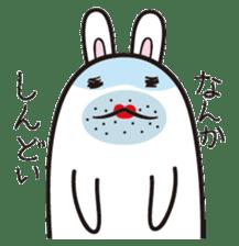 The rabbit of gay sticker #2057832