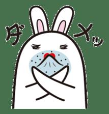 The rabbit of gay sticker #2057833