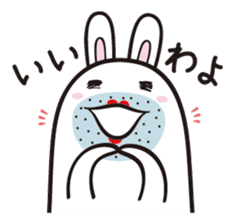 The rabbit of gay sticker #2057834