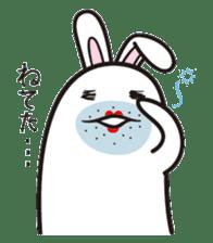 The rabbit of gay sticker #2057838