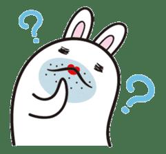 The rabbit of gay sticker #2057839