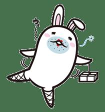 The rabbit of gay sticker #2057842