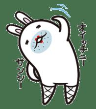 The rabbit of gay sticker #2057844