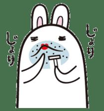 The rabbit of gay sticker #2057845