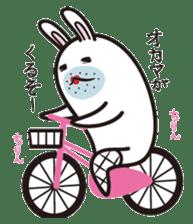 The rabbit of gay sticker #2057846
