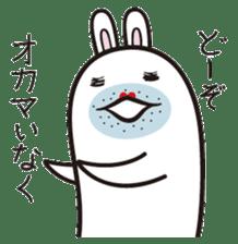 The rabbit of gay sticker #2057847