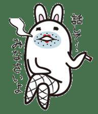 The rabbit of gay sticker #2057849