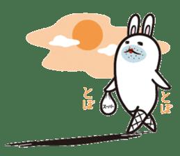 The rabbit of gay sticker #2057851