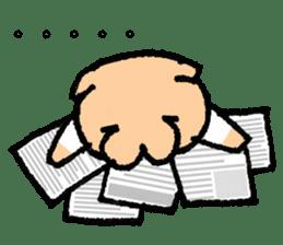 Salary - inu(Dog) sticker #2058426