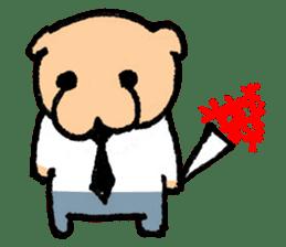 Salary - inu(Dog) sticker #2058448