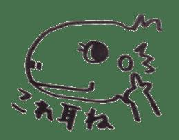 Cute Pogona vitticeps sticker #2059698